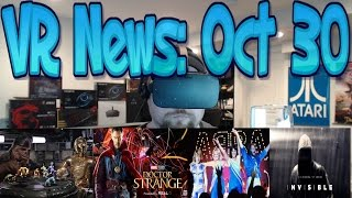VR News: Oct 30 - Phil Tippett renown effects dev's Mad God - Facebook's Prisma type App & More!