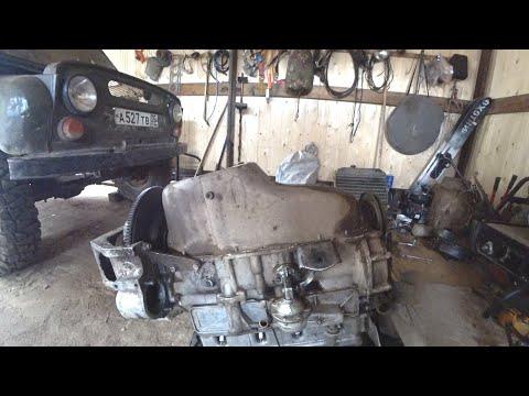 Велошиномонтаж. Как снять двигатель с УАЗа.