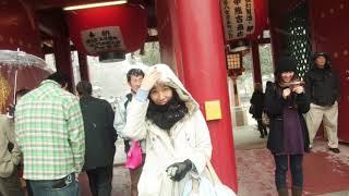 신혼여행 후 첫 해외여행 일본..