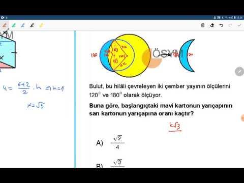 (2020) MSÜ Geometri (PDF Açıklamada) - MSÜ Geometri Soru Çözümleri