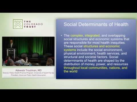 Health Equity and the Social Determinants of Health: Adewale Troutman, MD