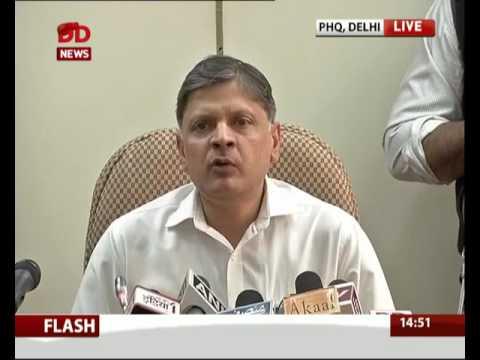 Press Conference of Arvind Deep, Spl CP on arrest of Khalistan terrorist
