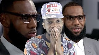 THOUGHT ABOUT THE SIXERS! LEBRON JAMES INTERVIEW ON HIS I PROMISE SCHOOL & MORE! thumbnail
