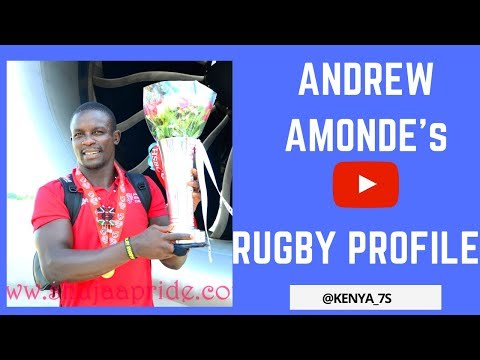 Andrew Amonde's Rugby Profile ★ 2018
