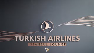 Turkish Airlines Istanbul Lounge