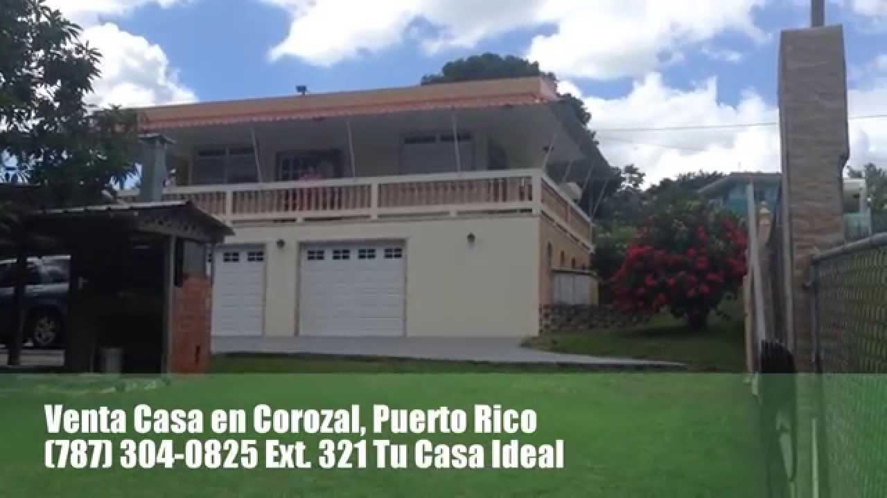 Venta Residencia en Corozal, Puerto Rico