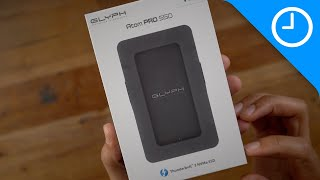 review: Glyph Atom Pro SSD - Hideaway Thunderbolt 3 cable!