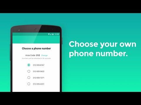 2ndLine - 2 numbers, 1 phone