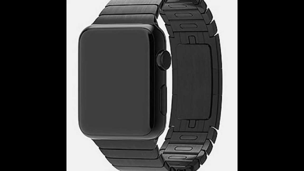 space black stainless steel watch - 1280×720