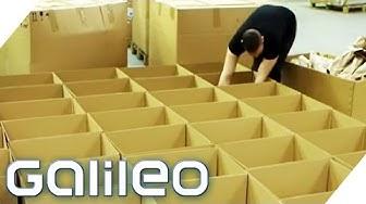 Das passiert mit unseren Retoure-Paketen | Galileo Lunch Break