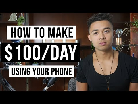 How To Make Money On Your Phone in 2021 (For Beginners)
