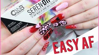 Testing dip nail kit from Walmart: Serendipity
