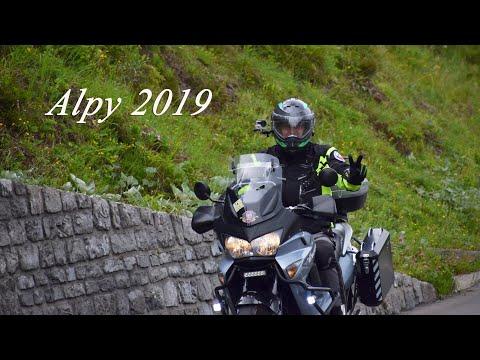 Moto Dovolená Alpy 2019