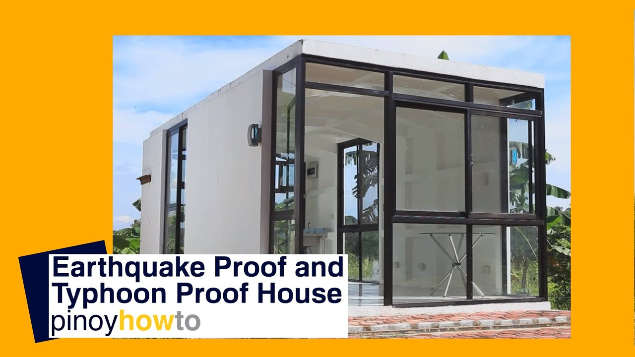 How to build an earthquake proof and typhoon proof house for What to do to build a house