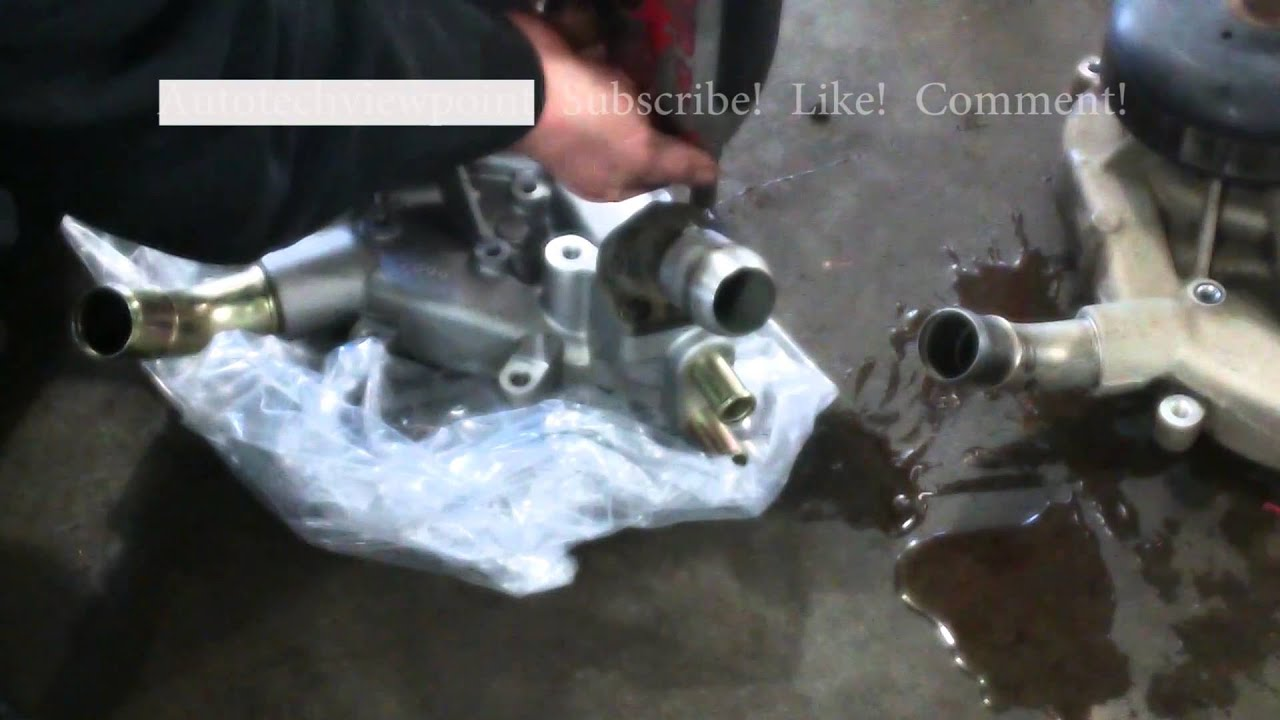 Water pump replacement 2006 Chevy Tahoe GMC 48, 53, 60