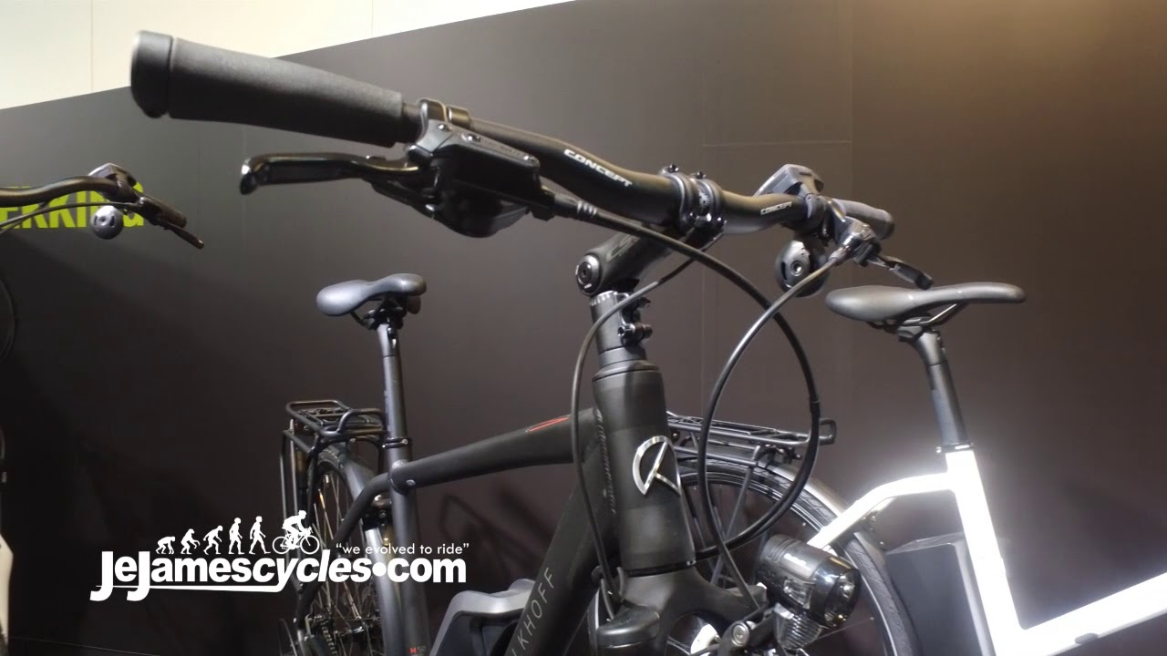 c1a34c92d07413 Kalkhoff Voyager Trekking Electric Bike Range 2018 by JE James Cycles