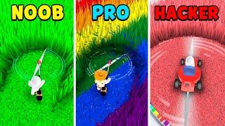 NOOB vs PRO vs HACKER - Mow My Lawn screenshot 1