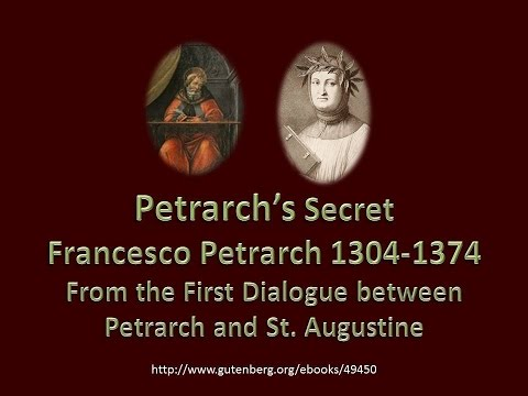 Petrarch's Secret excerpt by Francesco Petrarch 1350