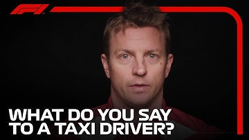 What Does An F1 Driver Say to a Taxi Driver?