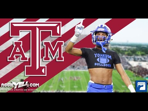 2018 4-Star athlete Jordan Moore commits to Texas A&M