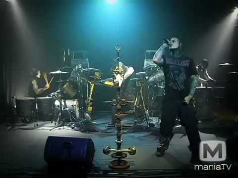 Combichrist - Get Out Of My Head (Live on Mania TV)