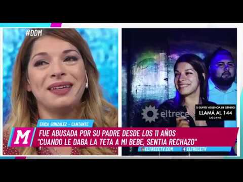 La Historia De Lucha De Erica González, Fue Abusada Por Su Padre Desde  Los 11 Años