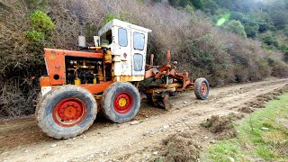 Vintage 12 Ton Grader bought for Scrap value- All fixed up and back to work