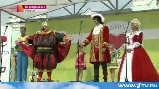 2015-08-29 Репортаж Первого канала про Камышинский арбузный фестиваль