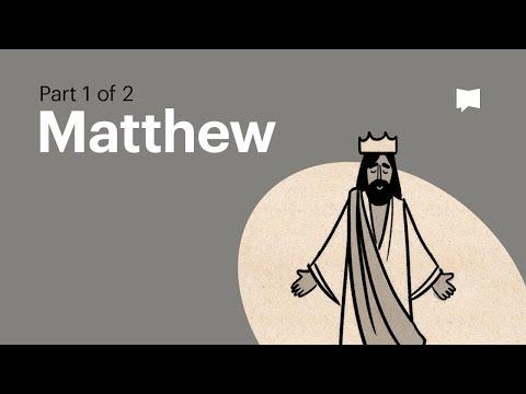 Overview: Matthew Ch. 1-13