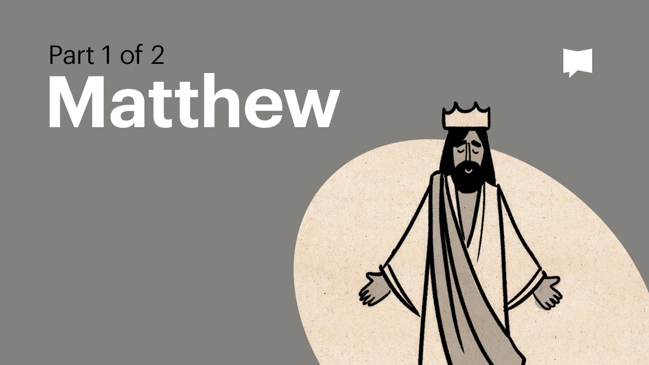 Read Scripture Matthew Ch 1 13 The Bible Project