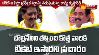 Differences Between Udayagiri TDP Politics in Nellore District
