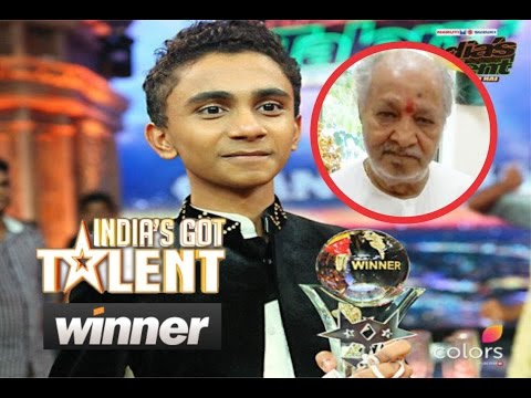 13 year old sulaiman is the winner of india's Got Talent