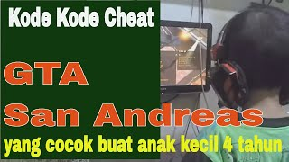 Arfa Main Game GTA San Andreas Pake Kode Rahasia