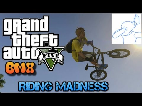 Gta 5: Freeroam Fun: Episode 3: BMX RIDING MADNESS!!