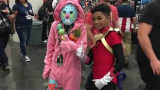 New York Comic Con 2018: Phoenix Force & Mario Bro Assassin's Creed Mashup Edition