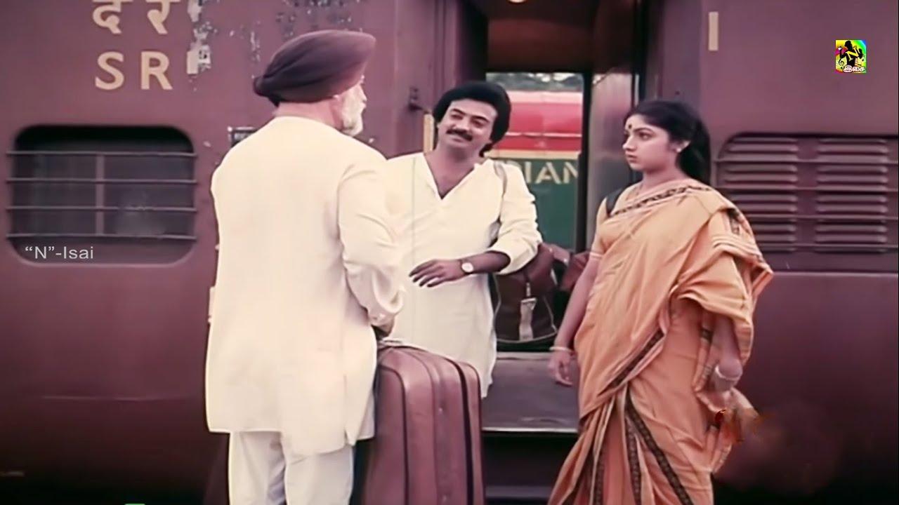 ரேவதி , மோகன் நடித்த மௌன ராகம் திரைப்படத்தின் அருமையானகாட்சி#Mouna Ragam Movie Scence#Mogan,Revathi