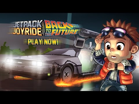 Jetpack Joyride: Back to the Future™ - OUT NOW!