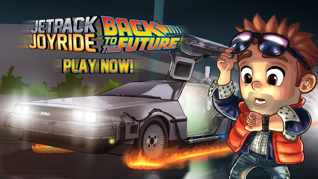 Jetpack Joyride Back To The Future Out Now Youtube