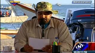 Nicolás Maduro en Nueva Espar