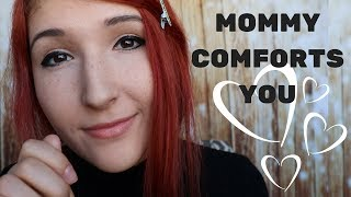 "ASMR - MOMMY ROLEPLAY ~ Mom Comforts You After Nightmare | Affirmations, Singing, ""Shh"""
