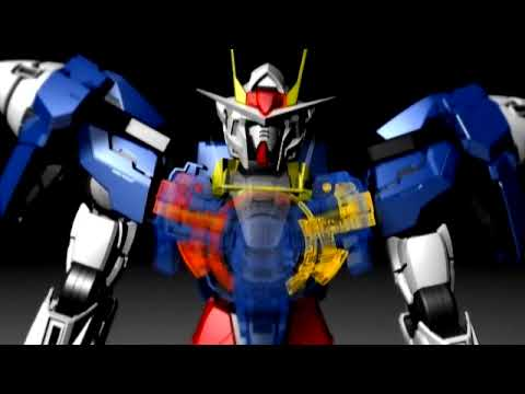 Perfect Grade Gundam 00 Raiser commercial from Bandai