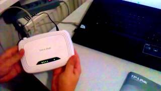 Установка и настройка Wi-Fi роутера(Как подключить и настроить роутер wifi - пошагово весь процесс от распаковки коробка с роутером, до настройки..., 2014-08-21T20:12:39.000Z)