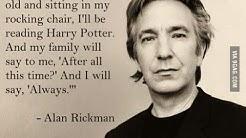RIP Alan Rickman / Snape :'(
