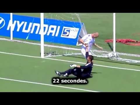 Zidane martyrise encore un jeune gardien