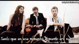 When You Were Mine - Lady Antebellum - Español