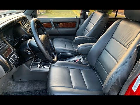 Project Acura SLX Part 6:  New Leather Interior!