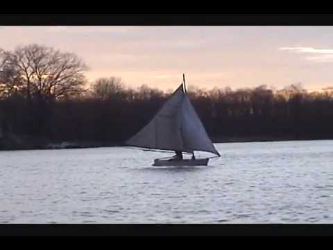 My homemade sailboat