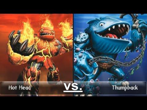 Skylanders duellmodus hot head 13 vs thumpback 15 let s play piratenh lle german deutsch - Skylanders thumpback ...