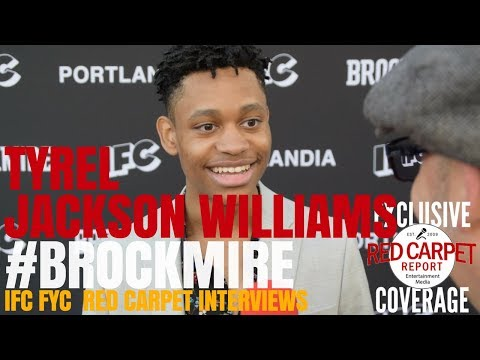 Tyrel Jackson Williams ed at IFC's Brockmire and Portlandia FYC Emmys Event