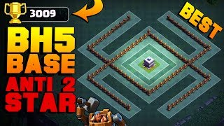 BEST Builder Hall 5 Base WIN EVERY TIME w/ PROOF!! | CoC +3000 CUP BH5 Builder Base | Clash of Clans